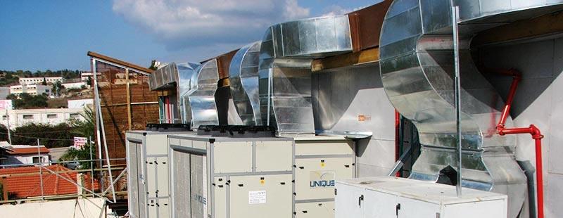 דני אגוז מיזוג אוויר תעשייתי
